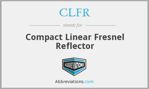 What does CLFR stand for?