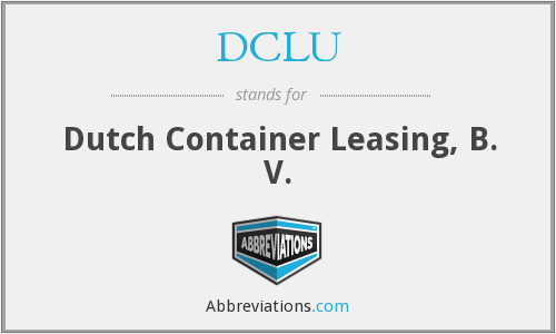 What does DCLU stand for?