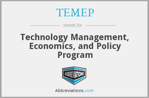 What does TEMEP stand for?