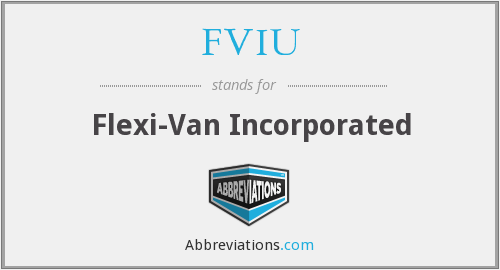 What does FVIU stand for?