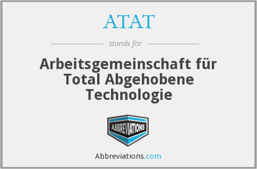 What does ATAT stand for?
