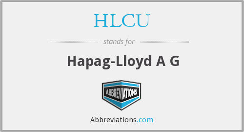 What does HLCU stand for?