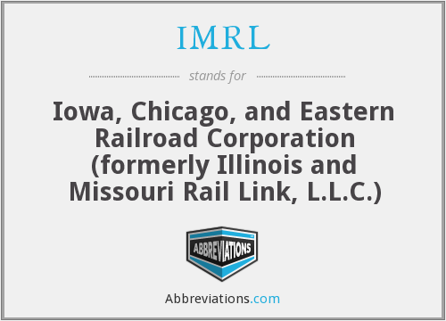 What does IMRL stand for?