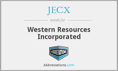 What does JECX stand for?
