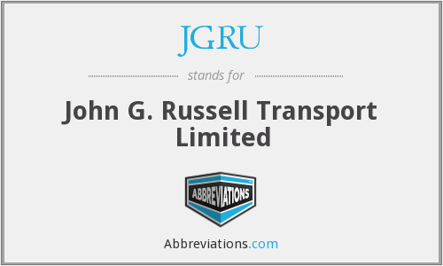 What does JGRU stand for?