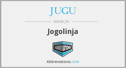 What does JUGU stand for?