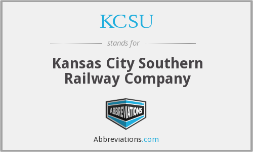 What does KCSU stand for?