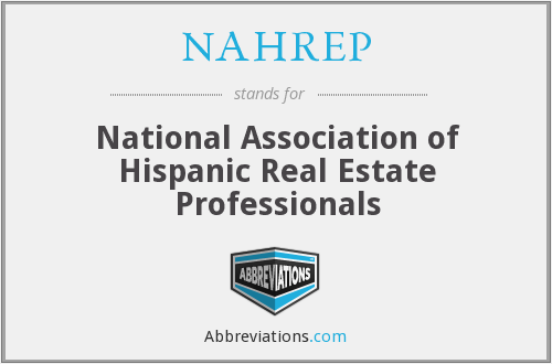 What does NAHREP stand for?
