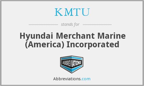 What does KMTU stand for?