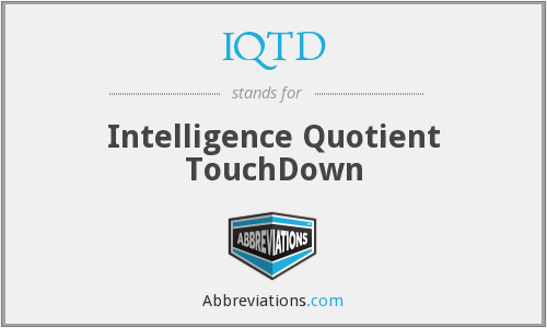 What does IQTD stand for?