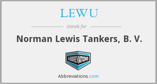 What does LEWU stand for?