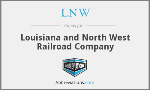 What does LNW stand for?