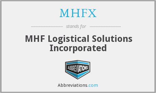 What does MHFX stand for?