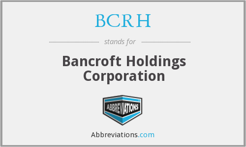 What does BCRH stand for?