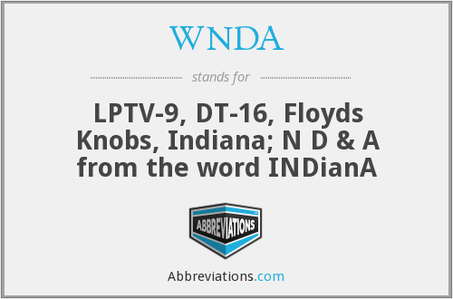 What does WNDA stand for?