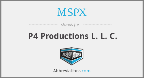 What does MSPX stand for?