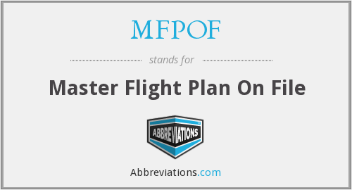 What does MFPOF stand for?