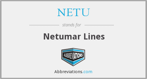 What does NETU stand for?