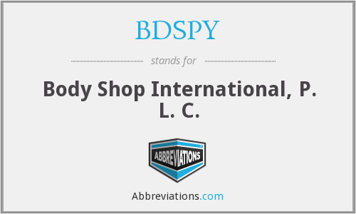 What does BDSPY stand for?