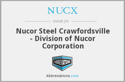What does NUCX stand for?