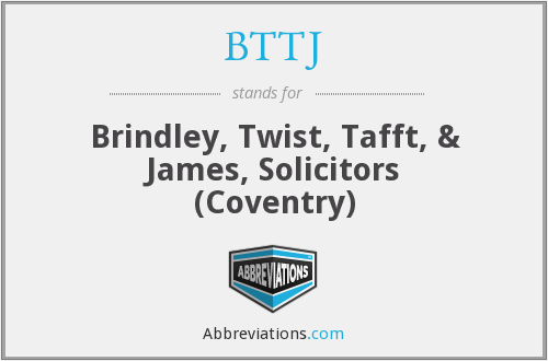 What does BTTJ stand for?