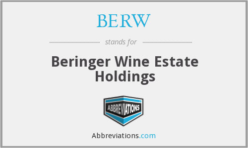 What does BERW stand for?