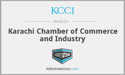 What does KCCI stand for?