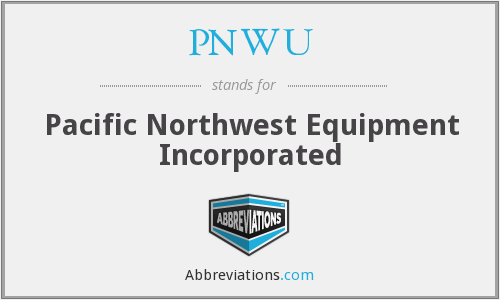 What does PNWU stand for?