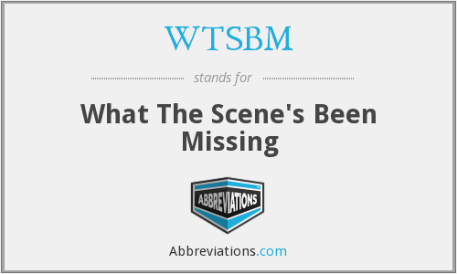 What does WTSBM stand for?