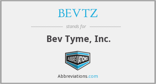 What does BEVTZ stand for?