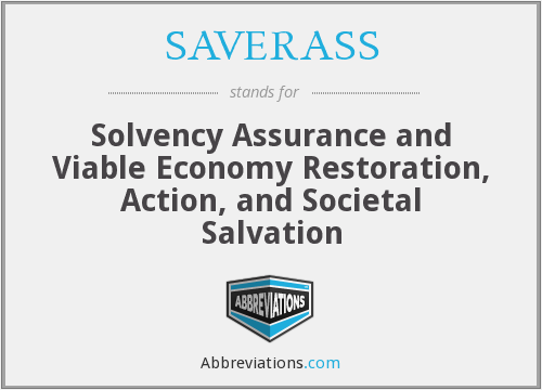 What does SAVERASS stand for?
