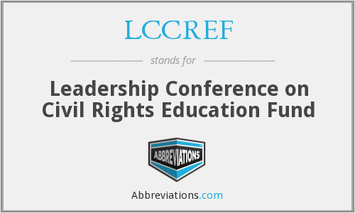 What does LCCREF stand for?
