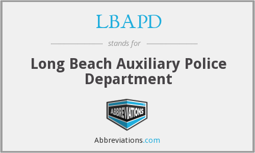What does LBAPD stand for?