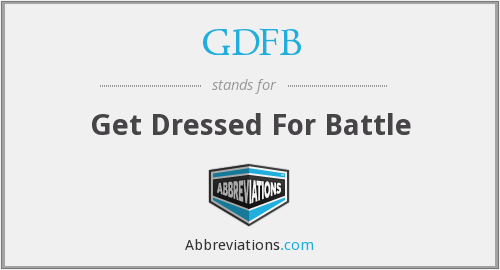 What does GDFB stand for?