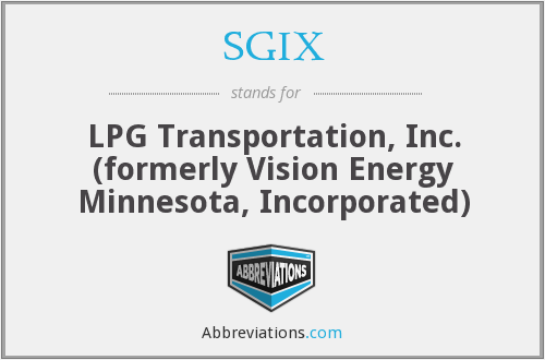 What does SGIX stand for?