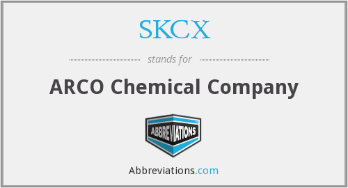 What does SKCX stand for?