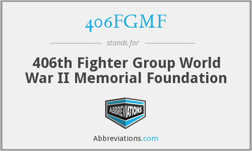 What does 406FGMF stand for?