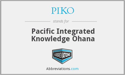 What does PIKO stand for?