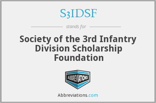 What does S3IDSF stand for?
