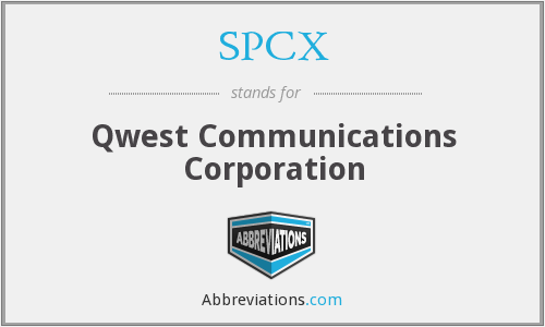 What does SPCX stand for?