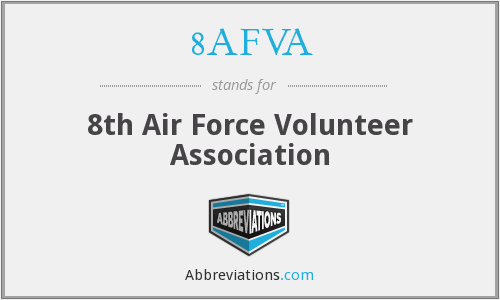 What does 8AFVA stand for?