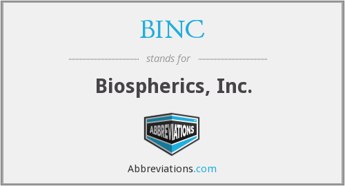 What does BINC stand for?