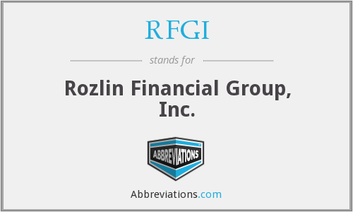 What does RFGI stand for?