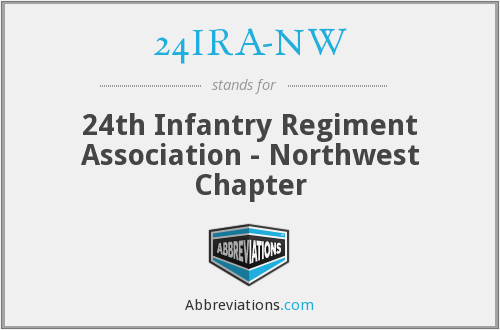 What does 24IRA-NW stand for?