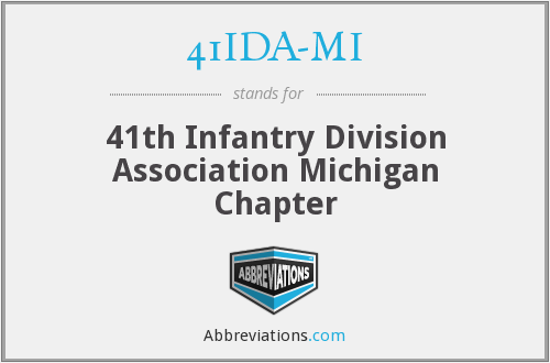 What does 41IDA-MI stand for?