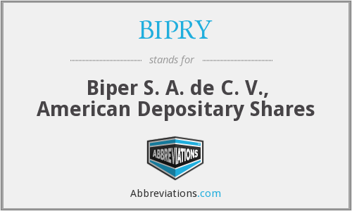 What does BIPRY stand for?