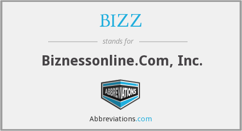 What does BIZZ stand for?