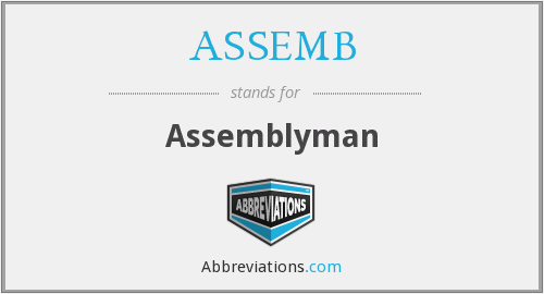 What does ASSEMB stand for?