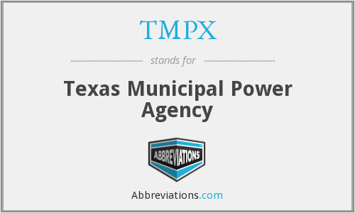 What does TMPX stand for?