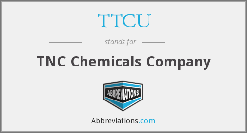 What does TTCU stand for?